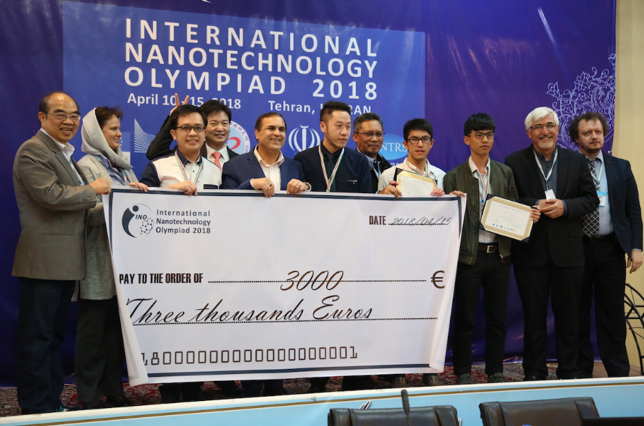 1st International Nanotechnology Olympiad (INO 2018)